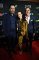 Billy Campbell, Karine Vanasse and Ben Mulroney