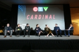 Cardinal cast and creatives with Ben Mulroney