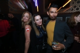 Francesca Accinelli, Tara Parker and Shant Joshi at the Netflix party