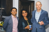 L to R: Neil Chakravarti, Reshma Jose, Mark Northwood