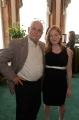 sarah polley (filmmaker) with charles pachter (artist)
