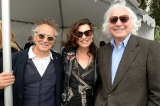 Singer-songwriters Marc Jordan and Amy Sky with Thunderbird Entertainment's Ivan Fecan.