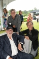 Norman Jewison with his sons, Kevin and Michael Jewison.