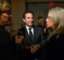 TFCA presenter Rick Mercer chatting with guests at the 2019 gala.