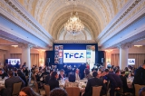 TFCA gala attendees mixing and mingling at the Omni King Edward Hotel in Toronto.
