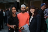 Parveen Kaur, Reza Dahya and Erica Proudlock at the CFC's annual creative excellence awards.