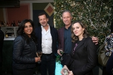 Producer Roma Khanna with eOne's Darren Throop and Goodmans LLP's  David Zitzerman and Tara Parker.