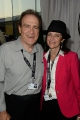 Toronto City Councillor Norm Kelly with ETV Film exec producer Moira Romano
