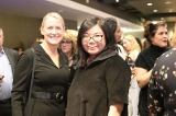 super channel's kim ball with touchwood pr's judy lung. image from kowthar omar.