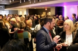 Attendees and recipients mingling at WIFT-T's Crystal Awards ceremony. Image from Kowthar Omar.