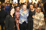 Oya Media Group president and 2019 Mentorship Award recipient Alison Duke with guests. Image from Kowthar Omar.