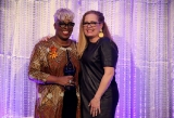 2019 Special Jury Award of Distinction honouree, maxine bailey, with Deb Day. Image from Kowthar Omar.