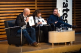 From L to R: Cory Eisentraut, VP creative director Havas Worldwide Canada, Ann Stewart, president Maxus Canada and  Jay Chaney, chief strategy officer Cossette Communication