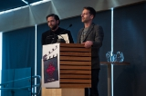 Matt and Andy King pitch their marketing plan for their upcoming feature, Filth City