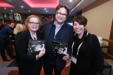 L to R: Deb Day from Innovate By Day, Jesse Wente from the Indigenous Screen Office and Tracey Deer from Mohawk Princess Pictures