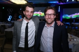 Actor/producer/director/writer Jay Baruchel with CMPA's Reynolds Mastin