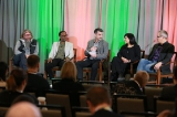 Mobile Rising panel: (L to R) John Robson (WildBrain), Kevin Barton (SnackableTV), Eric Blais (Numeris Canada), Nina Sudra (VICE Canada), Craig Parks (Comcast/Watchable)