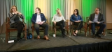 New Approaches to the US Market (L to R): Noreen Halpern (Halfire Entertainment), Chris Regina (Syfy, USA & Chiller), Corrie Coe (Bell Media), Meghan Hooper-White (Lifetime Networks), Ken Dhaliwal (Dentons Canada LLP)