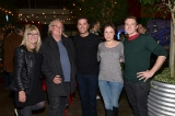 christina jennings with peter mitchell, yannick bisson, arwen humphreys and lachlan murdoch