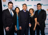 Tyler Puley (Co-Founder of TEALPOWER and Alison's Partner), Clarissa Salinas-Moldawa, Salvadore Salinas, Clarita Salinas, Neil Salinas (Sister, Father, Mother, Brother)
