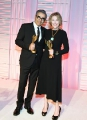 Eugene Levy and Catherine O'Hara after receiving their Academy Legacy Awards