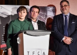 L to R: Sofia Bohdanowicz, winner, Stella Artois Jay Scott Prize for an Emerging Artist (Maison du Bonheur)