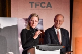 Ashley McKenzie, winner, Rogers Best Canadian Film Award,