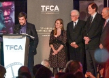 Hugh Gibson, Sarah Polley, Brian Johnson, Peter Howell and Phil Lind
