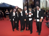 Zombies attack the red carpet! In honor of Don Carmody, 2010 Hall of Fame inductee (photo: Linda Dawn Hammond)