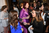 Caroline Dhavernas and Emma Donoghue speak to media at the Birks Diamond Tribute.