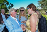 The Honourable Eleanor McMahon, Ontario Minister of Tourism, Culture and Sport meets CFC founder Norman Jewison