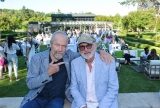 Gary Slaight, CFC board member and president and CEO, Slaight Communications Inc. with Norman Jewison, founder and Chair Emeritus, CFC