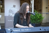 Kayla Diamond, Slaight Music artist performing at the 2016 CFC Annual Garden Party