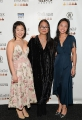 L to R: Connie Wang (Second Jen), writer-director Winnifred Jong, and Chelsea Clarke (Degrassi: Next Class)