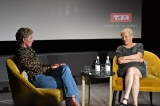 Gretchen Mol and Mary Harron 