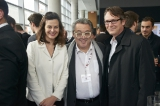 Wallimage's Flore de Bayser, Philippe Reynaert, CMPA's VP of Policy Marc Seguin