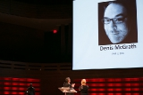 The Writers Guild of Canada paid tribute to the memory and legacy of Denis McGrath