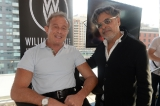 whites' chairman/ceo paul bronfman with hussain amarshi, president and founder, mongrel media