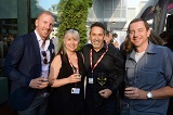garin josey (whites' vp/gm vancouver, assistant coo), carol whiteman (co-creator, widc), luke azevedo (alberta's commissioner, film, tv and creative industries) & david james (general manager, prg canada)