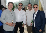 dp colin hoult, roger playter (whites' manager, client services), brandon cooper (whites camera's director, client services & operations) & producer alex jordan