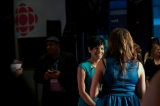 cbc's anne- marie mediwake red carpet interview.