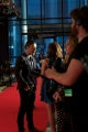 cbc's george stroumboulopoulos red carpet interview.