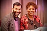 Zaib Shaikh and Maxine Bailey / Photo credit Kowthar Omar