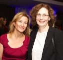WIFT-T Board members Maureen Judge and Pat DiVittorio at reception.