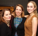 CBC Business of Broadcasting Mentorship Winner Paige Lawson, Michelle Daly and XX at the reception.