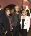 Mary Jo Thompson, Christine Shipton and Barbara Bowlby at the 2014 WIFT-T Crystal Awards. Credit: Yani Macute