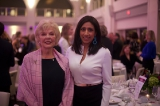 Trina McQueen with Global News anchor and WIFT-T 2018 Crystal host Farah Nasser. Photo by Kowthar Omar.