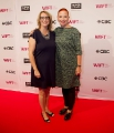 WIFT-T exec director Heather Webb with CBC president Catherine Tait. Photo by Eduardo Pereira from Eddy Perez Photography.
