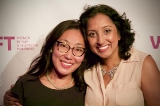 L-R: WIFT-T Members, Director Gloria Kim & Producer Kulbinder Saran Caldwell  Photo credit: Eddie Perez
