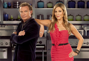 Top Chef Canada Head Judge Mark McEwan and Host Thea Andrews